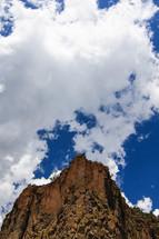 rocky mountain cliff