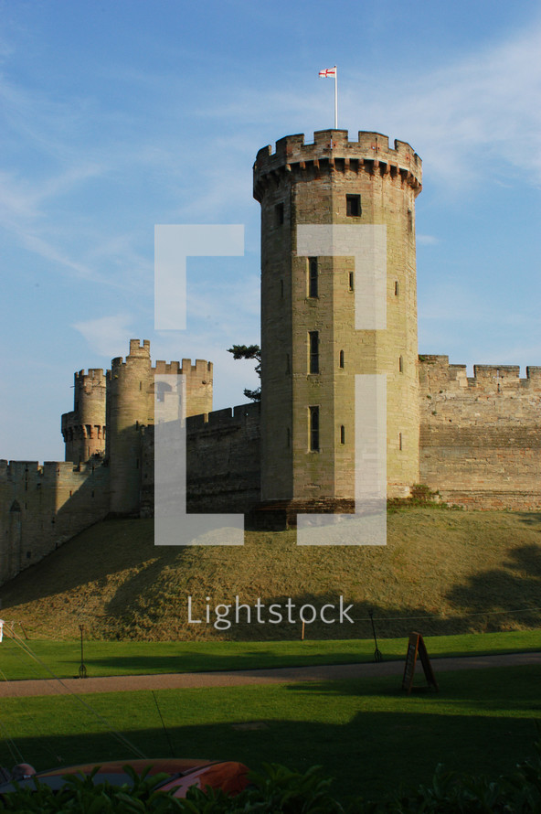 stone fortress - walls. Fortress, stone, stronghold, strength, steadfast.