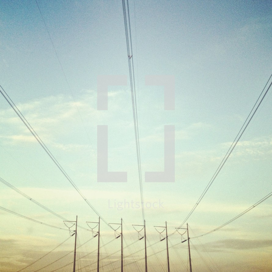 Pole lines
