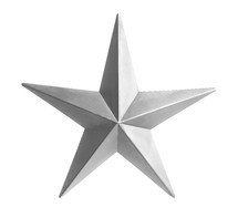 star against a white background