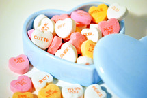 Candy hearts.