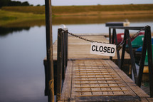 closed dock