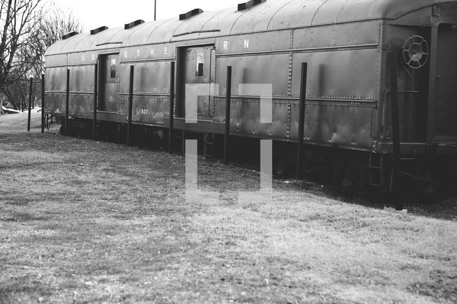 A train car