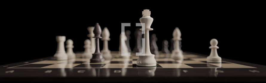 chessboard banner