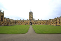 Oxford courtyard