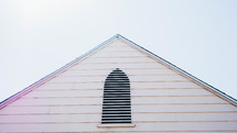 church roof and window