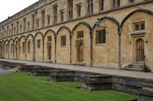 Oxford courtyard