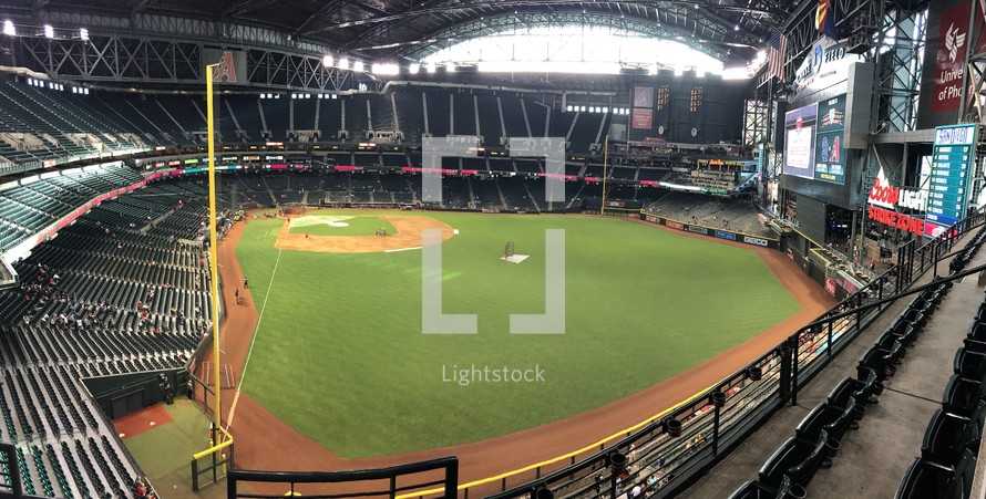 Chase Field ballpark Phoenix, Arizona