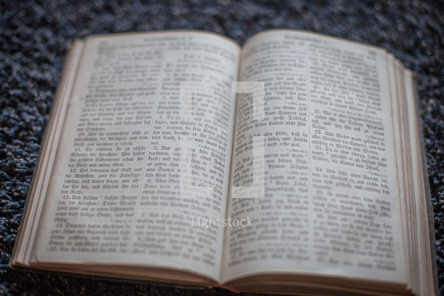 open old bible