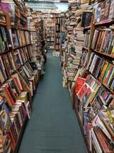 books in a book store