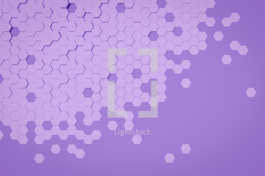 purple hexagon background
