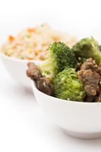 Beef and Broccoli Chinese Food