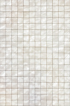 bright pearly white tiles