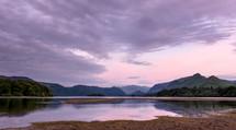 lake in England at dawn