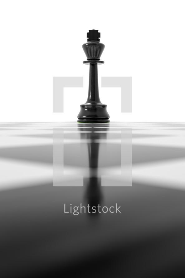 black king, chess