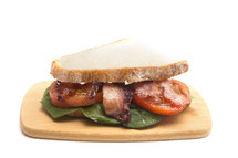 Classic Bacon, Lettuce, and Tomato Sandwich