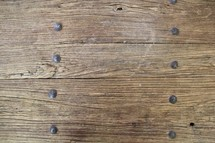 nails and wood boards