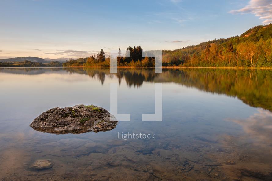 still lake water