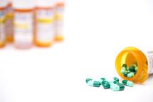 spilled prescription medication