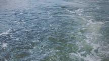 Water movement.