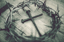 crown of thorns and cross of nails