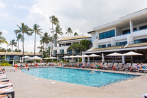 beachside resort pool