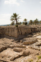 site of Megiddo also known as Armageddon in the Bible