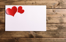 Valentine's Day gift envelope