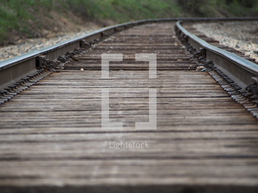 following the tracks