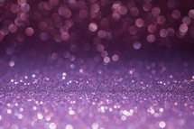 bokeh sparkling purple light