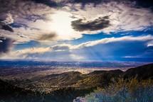 mountains in Albuquerque, New Mexico