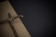 a cross of sticks