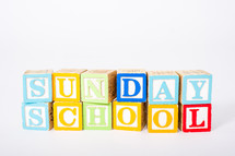 Sunday School blocks