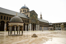 The Great Mosque of Damascus in Syria.
