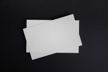 white blank paper