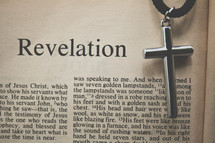 Revelation and a cross necklace