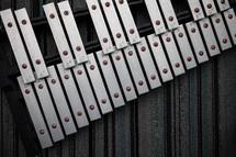 xylophone on a rug