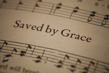 Saved by Grace sheet music