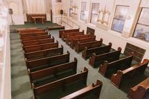 empty chapel interior