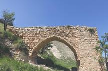 stone arch ruins