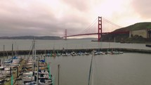 marina in Golden Gate Bridge