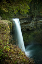 waterfall at Silver Falls
