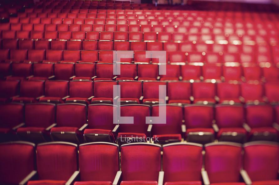 Chairs in auditorium