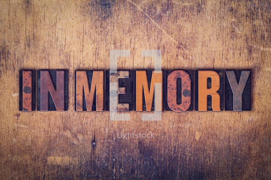 word sin memory