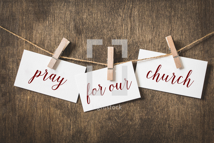 Pray for our Church