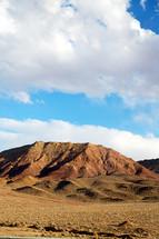 desert mountains in Iran