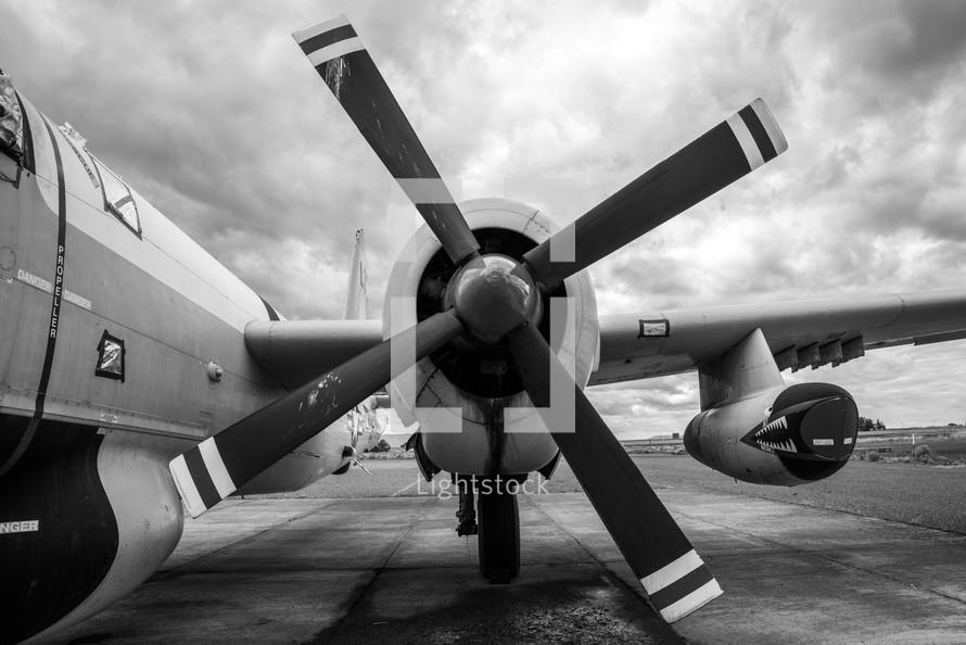 small plane propeller