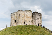 old York Castle in Yorkshire, England