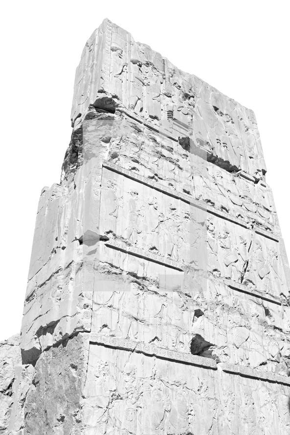 ruins in Iran