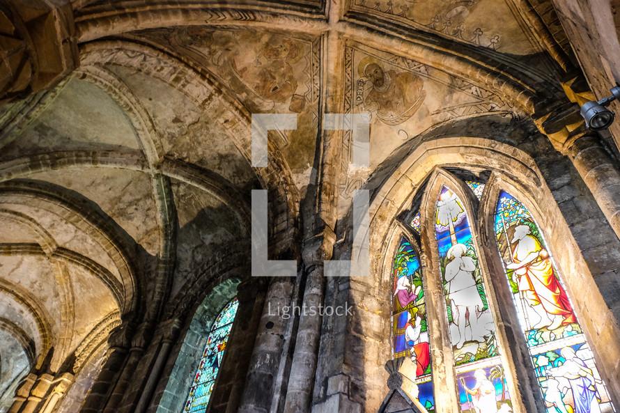 DF abbey ceiling